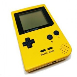 GAMEBOY POCKET JAUNE